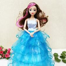 10inch Dolls Strapless Dress Clothes Gown Outfits for Barbie Girls Xmas Gift