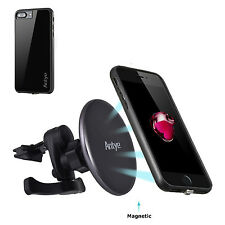 Qi Wireless Charger Dock Magnetic Car Air Vent Mount Holder for iPhone 7/7Plus