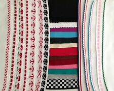Assorted Doubleknit Collars/Cuffs/Trim Cute Borders Available Group A