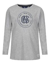 Gant Boys' New Haven Long Sleeve T-Shirt - Grey Melange