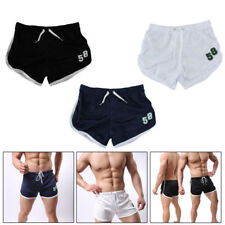 US Men Running Sports Beach Training Gym Fit Jogging Casual Short Pants Trousers