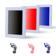 Baby New Born Safe Inkless Touch Footprint Handprint Ink Pad Non Toxic