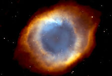 Helix Nebula NGC-7293 - Space Poster Print - Space Photo - Hubble Photo - NASA