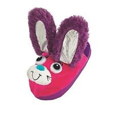 Girl's Youth STOMPEEZ BUNNY Pink/Purple Slippers Slip On Casual House Shoes NEW