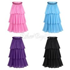 Summer Chiffon Flower Girl Wedding Pageant Formal Jr. Bridesmaid Bown Prom Dress
