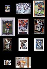 Peyton Manning Topps Panini Donruss Broncos Football Cards -You Pick From List!
