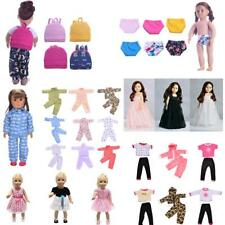 Handmade Doll Clothes Skirt Dress Sleepwear for 18 inch American Girl Doll Accs
