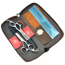 5.5 6.0inch Hairdressing Scissors Kit Barber Hair Cutting Thinning Shears Tools