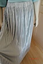 MARKS & SPENCER DUCK EGG PLEAT SHIMMER SKIRT SIZE 8,14 & 16 RRP £45 CLEARANCE