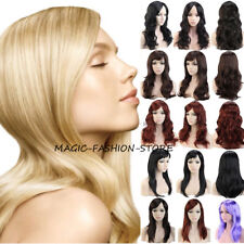 Cheapest Colored Ladies Full Wig Cosplay Costume Fancy Dress Light Blonde US HTH