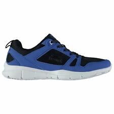 Slazenger Mens Gents Force Mesh Running Shoes Laces Fastened Padded Ankle Collar