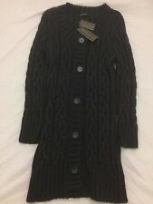Ex-Marks and Spencer Ladies Long Knitted Cardigan
