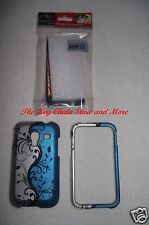 NEW Samsung Galaxy Admire 4G R820 SCH-R820 Faceplate Phone Cover BLUE VINE