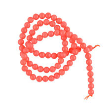 "Round Coral Loose Spacer Beads Boho Crafts 15"" Strand 4mm 5mm"
