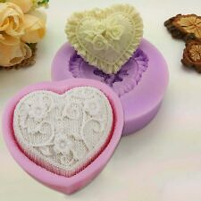 Silicone Soap Heart Mold Cake Candy Chocolate Cupcake Cookie Mold Ice Cube Mould