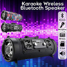 Wireless Bluetooth Speaker Stereo Outdoor USB/ AUX/ TF Card Subwoofer Xmas Gift
