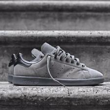 ADIDAS STAN SMITH SUEDE GREY SIZE 7 8 9 10 11 12 SHOES NMD ULTRA MENS BOOST