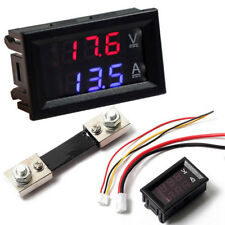 DC 100V 10/50/100A Voltmeter Ammeter LED Digital Amp Voltage Current Power Meter