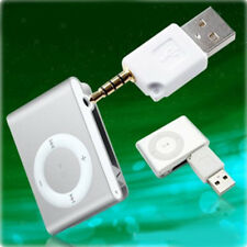 2 in 1 USB Data Sync Charger Adapter 3.5mm for Apple iPod Shuffle 1st 2nd