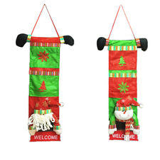 Christmas Decoration Gift Bags Santa Claus Snowman Gift Bag Hanging Ornaments