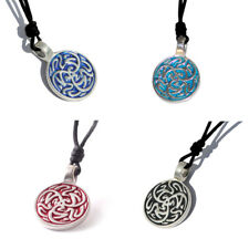 Tribal Celtic Silver Pewter Charm Necklace Pendant Jewelry