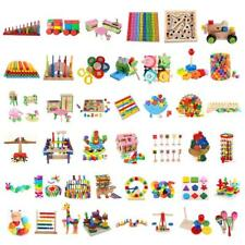 Kids/Baby Educational Building Blocks/Jigsaw Puzzles/Montessori Wooden Toys Gift
