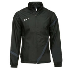 Mens Nike Zip Up Warm Track Top Black Training Jacket Size