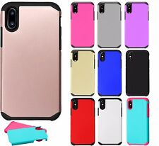 For Apple iPhone 8 / 8 Plus / iPhone X Hybrid Hard Phone Case Cover FUSION