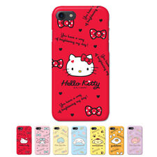 Hello Kitty Characters Protect Hard Slim Bumper Case For Apple iPhone 7 / 7Plus