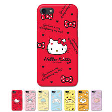Hello Kitty Characters Protect Hard Slim Bumper Case For Apple iPhone 5 5S SE