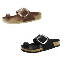 Birkenstock Miramar Big Buckle Womens Sandals Waxy Leather Thongs Slides Shoes
