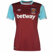 Umbro West Ham United FC Home Jersey 2016 2017 Womens Football Soccer Shirt Top