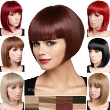 Beauty Luster Women Full Wig Bob Style Short Straight Hair Cosplay Party Wigs 6n