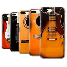 STUFF4 Back Case/Cover/Skin for Apple iPhone 8 Plus/Guitar