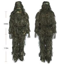 Jungle Hunting Ghillie Suit Set Woodland Sniper Birdwatching Clothes Camouflage