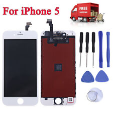 For iPhone 5 Replacement LCD Screen Assembly + Touch Glass Digitizer Tool Kit