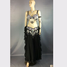 belly dance costume wear stage performance 5 piece belly dancing skirt dress set