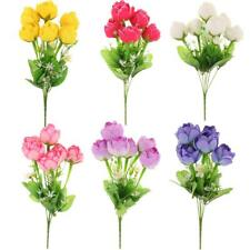 Wedding Home Party Decorations Silk Flower 1 Bouquet Artificial Lotus Bud
