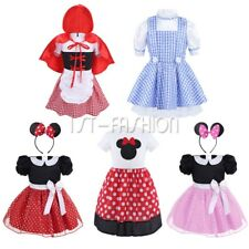 Toddler Girls Baby Fairytale Fancy Dress Outfit Kid Halloween Party Princess Set