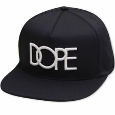 Dope Couture Classic Logo Snapback Navy