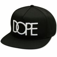 Dope Couture Classic Logo Snapback Black