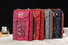 For iPhone 5/ 5s / 5c /SE Michael Kors Monogram Purse/ Wallet cover +retail tags