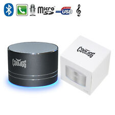 Cooligg Wireless Bluetooth Mini Portable Stereo Speaker Bass for Cellphone