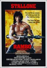Rambo First Blood Part 2 Movie Poster Print - 1985 - Action - 1 Sheet Artwork