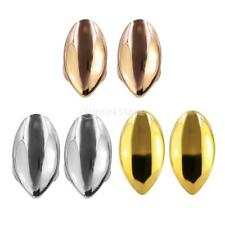2pcs 18K Gold Plated Grills Single Tooth Caps Grill Fangs Vampire Hip Hop Rock