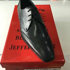 Jeffery West Black Line KENDA Lace Up Brogue Shoe RRP £149 BNIB