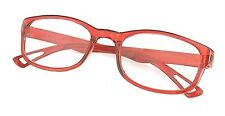 MT16 Stylish Red Reading Glasses+ Case 30p Postage for Extra Pairs +1.5+2.0+3.0