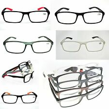 Retro Acetate & Rubber Unisex Reading Glasses 5 Colours with 9 Strengths MT125