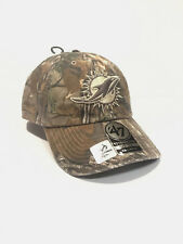 MIAMI DOLPHINS NFL REALTREE XTRA CAMO '47 BRAND FITTED FRANCHISE HAT/CAP NWT