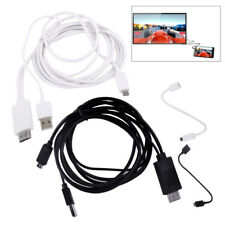 MHL Micro USB to HDMI 1080P Media HD TV HDTV Cable Charger for Android Phones